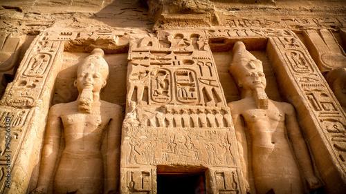 Nefertari temple, Abu-Simbel Tablou Canvas