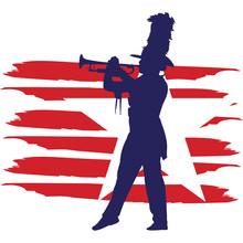 Corps Flag, American Flag, Fou...