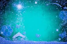 Christmas Nativity Scene Greetings Cards