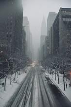 Manhattan Street View After A ...