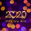 canvas print picture - Happy New Year 2020