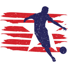 Kickball  Flag, American Flag, Fourth Of July, 4th Of July, Patriotic, Cricut Silhouette Cut File, Cutting File