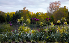 Hannover Maschpark Blumen Am See