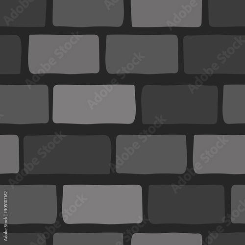 Cuadros en Lienzo Old stone wall