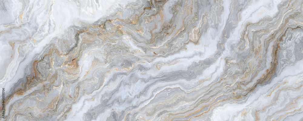 Fototapeta White marble background