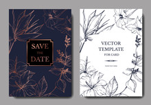 Vector Tropical Flowers And Le...