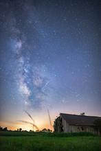 Stars Over Barn