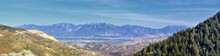 Panoramic View Of Wasatch Fron...