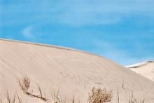 Mojave Desert Sand Dune Landscape. Kelso Dunes.