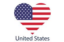 USA Flag Icon, American Flag V...