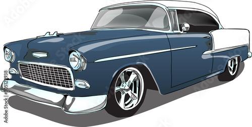 Klasyczny samochód lat 50