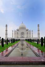 The Icon Of India And The Symbol Of Love Taj Mahal, India.