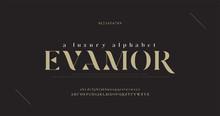 Elegant Luxury Alphabet Letter...