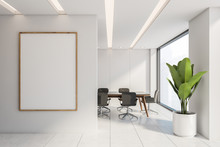 White Panel Conference Room Wi...