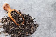 Black, Large-leaf Tea With Lavender Flowers