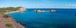 Cala Pregonda, une des plus belles plages de Minorque, îles Baléares
