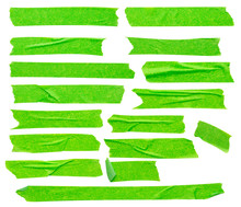 Green Adhesive Paper Tape Isol...