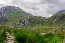 A Walking Path In Snowdonia National Park, Wales