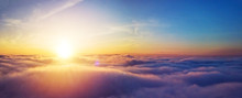 Beautiful Sunrise Cloudy Sky F...