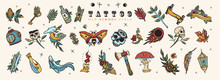 Tattoo Elements Collection. Bi...