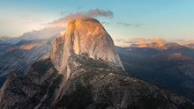 Half Dome At Sunset From Glaci...