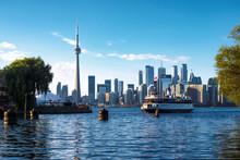 Toronto, Ontario, Canada, View...