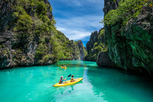 Palawan, Philippines, Tourists...