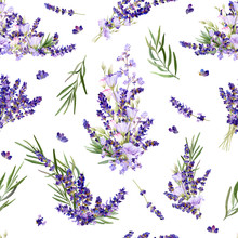 Seamless Pattern In A Provence...