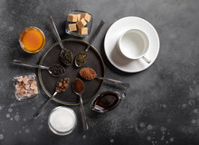 Various Types Of Tea (black, G...
