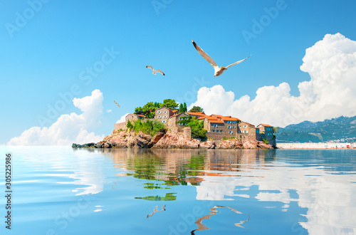 Photo Sveti Stefan Island