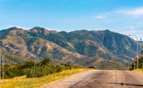 Fotografija  'Sierra Maestra' mountains, Santiago de Cuba city, Cuba