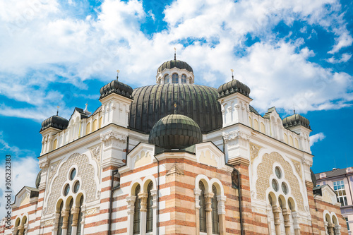 Sofia Synagogue is the largest synagogue in Southeastern Europe Fototapeta