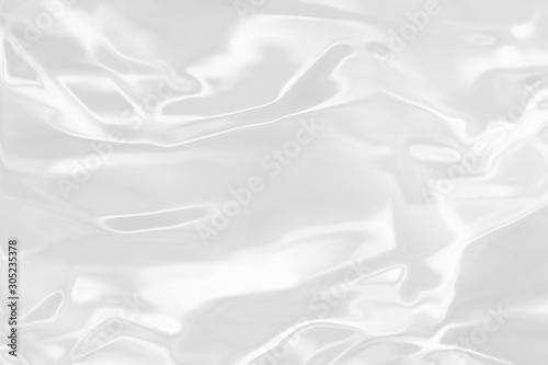 . White liquid shiny background. Tablou Canvas