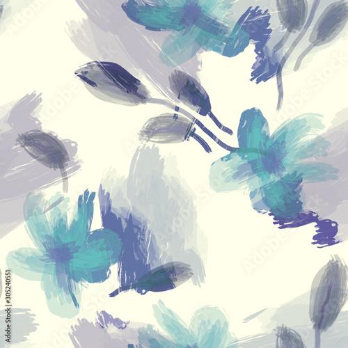 wzor-recznie-malowane-kwiaty