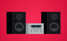 Home Modern Stereo Audio Syste...