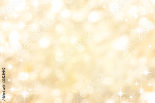 Fototapeta abstract blur soft gradient gold color background with star glittering light for show,promote and advertisee product and content in merry christmas and happy new year season collection concept obraz na płótnie