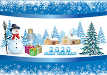 2020 New Year Card Christmas T...