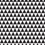 czarno-biały wzór z trójkątem - 305256173