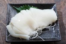 Image Of Japanese Squid Sashimi