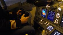 Civil Aircraft Cockpit Photo