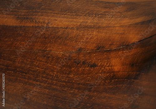Natural wood grain blackground in warm tones. Slika na platnu