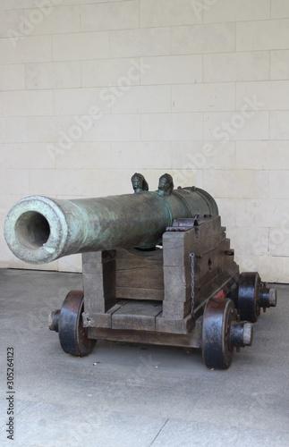 canon de marine Canvas Print