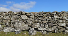 Dry Stone Wall In Dartmoor Nat...
