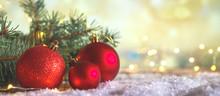 Christmas Decor Composition Of...