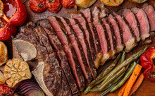 Marbled Beef Steak On The Bone...