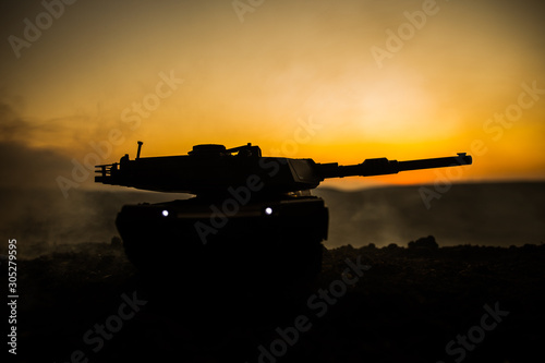 Fototapeta War Concept