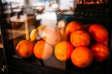 Fresh Oranges And Cakes Inside...