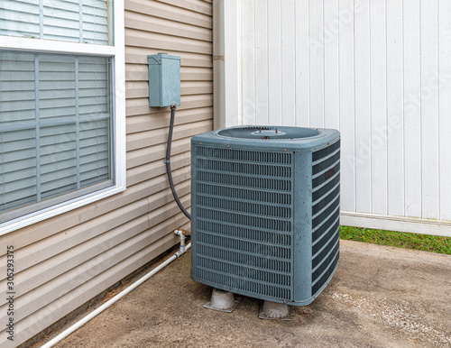 Photo Central Air Conditioning Unit