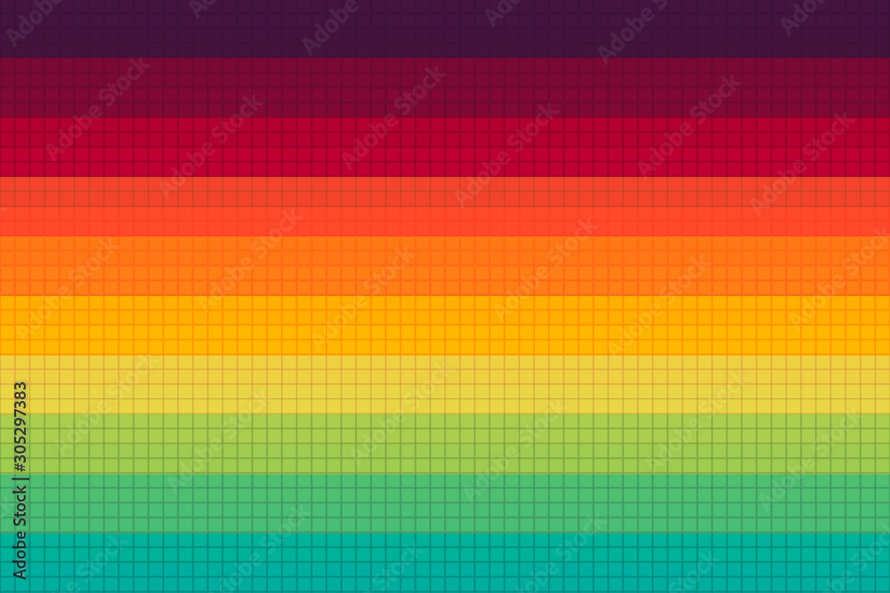 Abstract colorful background with straight lines