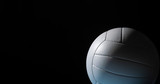 Closeup detail of volleyball ball texture background